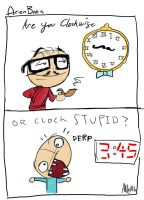 arien brain: clock stupid by therealarien
