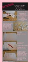 DIY THURSDAY *How to make your own pattern* by dinoblood
