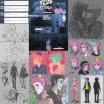 Tumblr Sketch Dump 3 by Hootsweets