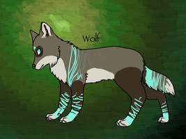 Custom Wolf by RivotAdopts