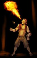 Commissions:  Fire Breathing Murdock by Gone-Batty