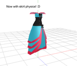 Saloon Girl Dress UPDATE - NOW WITH SKIRT PHYSICS by mkf327