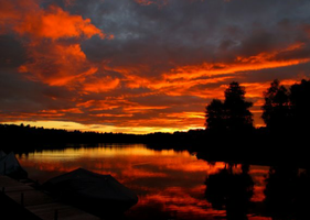 fire in the sky by MysticShells7782