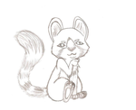 .:AT:. Cute little Red Panda by Bluefoxyz