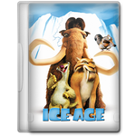 Ice Age (2002) Movie DVD Icon by A-Jaded-Smithy