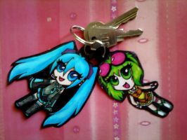 key chains by MikiMonster