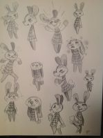 Pippy, Animal Crossing Sketches by sIurpuff
