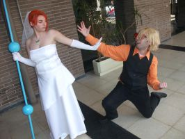 Nami and Sanji 2 by claudia1542