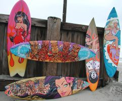 surfboard art by spikebell