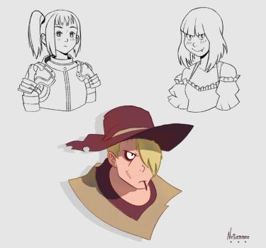 Cowboy  Badass And Girls Design - Day 12 by Netierrez