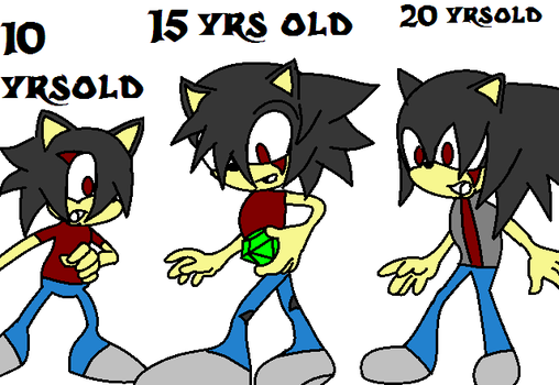 Dynamic Ages -10 to 20- by XZombie-LightningX