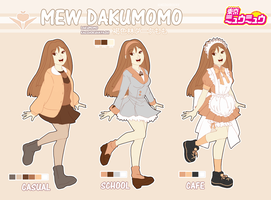 Mew Dakumomo Reference Sheet p.2 by IgneousRocks