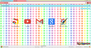 Pastel Superstar Chrome Theme by Crystal-Moore