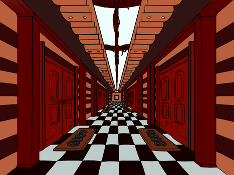 One Point perspective practice by Motoyasu