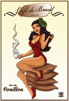 Pin Up Coffee by celaoxxx