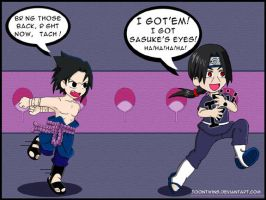 Itachi's Victory by ToonTwins
