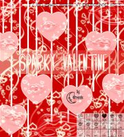 Sparky Valentine Brushes by Coby17