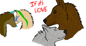 If It's Love iScribble Collab by lucidcoyote