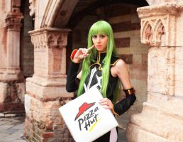 Cosplay - Pizza Hut by Didi-hime