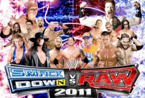 WWE SmackdowN VS Raw by Gogeta126