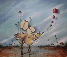 my half apple by danielramosruiz