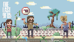 The Last Of Us - Pixel Art Wallpaper by IsThisKyle