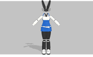 MMD Cutie set V2 -Electric Bunny- -UPDATED- by amiamy111