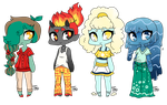Elements of Spring Adopts: 1 LEFT by FrenchFriedOreo
