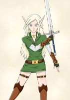 High Elf Ranger Lydrial by ansseta2