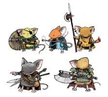 Guard Mice by d20plusmodifier