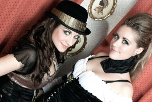 Steampunk Girls 2 by HyperXP