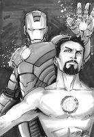 Tony Stark Iron Man by KidNotorious