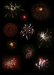Fireworks New Year's Eve 2009 by Xenonia