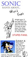 Sonic Rants About Stupid Fans by TheGameArtCritic