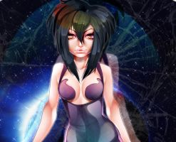 melfina outlaw star - Commission by Mellvine