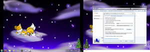 Desktop for Christmas-New Year by SpringsTS