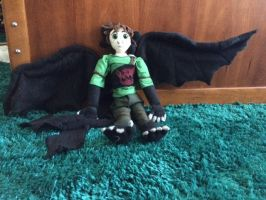 hybrid Hiccup doll/plush by kittycat3191