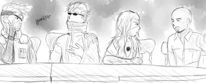 Kickstarter Commission: Casual Convo by FaithWalkers