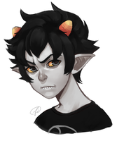 Karkat -REMAKE- by Fishiebug