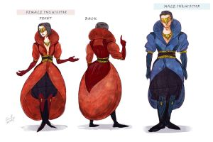 Inquistor's Orlesian Outfit Design by Cocoz42