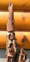 Wee Folk Castle by ForestDwellerHouses