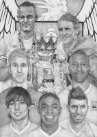 Manchester City Premier League Champions by Lucas-21