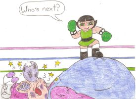 Boxing Buttercup by Jose-Ramiro
