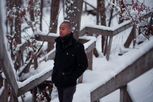 Andre in winter time by digital-uncool
