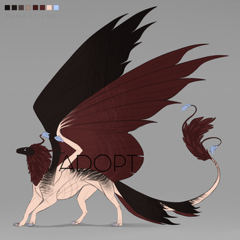 Red-winged Dragon   Auction [CLOSED ] by Haskiens