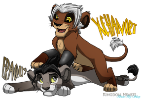 PrideLands Xehanort and Eraqus by Nightrizer