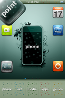point theme for iPhone by version3