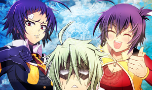 Cardfight Medaka Playmat by ApexNyanmaru