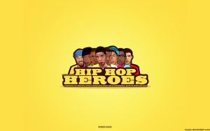 HIP HOP HEROES LOGO Wallpaper by crymz