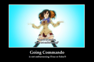Going Commando by DNArt93